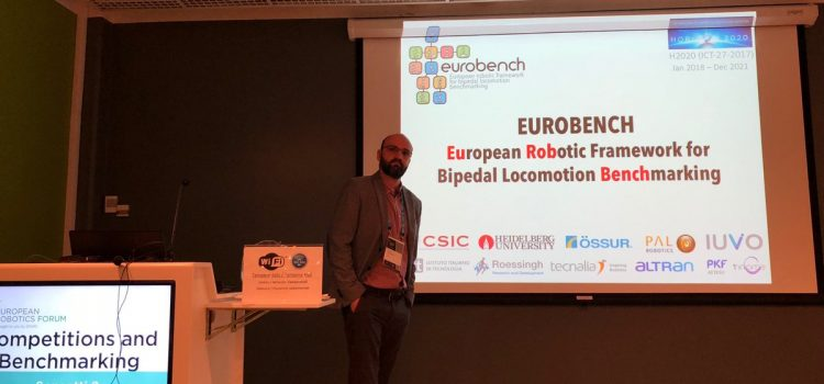 EUROBENCH attended the ERF 2018 with a workshop