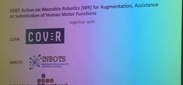 EUROBENCH at COST Action on Wearable Robotics