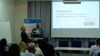 EUROBENCH is presented at a workshop on Funding Opportunities for Robotics